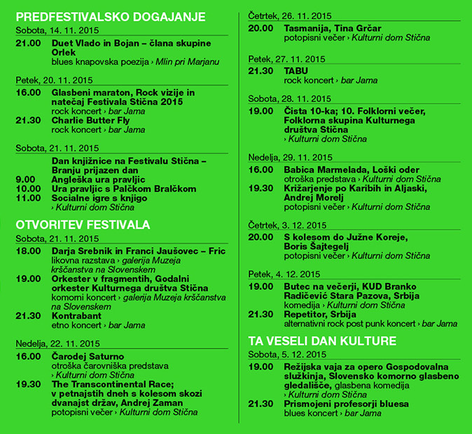 Festival Stična